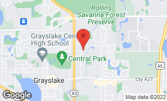 Map of 623 Dove Court GRAYSLAKE, IL 60030