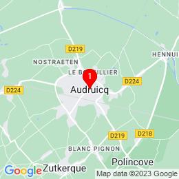 Plan de 62370 Audruicq