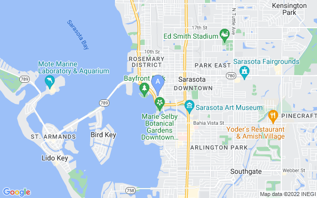 624 S Palm Ave #10 Sarasota Florida 34236 locatior map