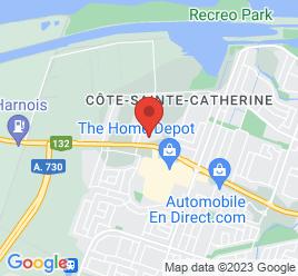 Google Map of 6240+Route+132%2CSainte-Catherine%2CQuebec+J5C+1B6