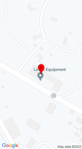 Google Map of Leslie Equipment Company 6248 Webster Road, Cowen, WV, 26206