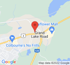 Google Map of 625+Grand+Lake+Road%2CSydney%2CNova+Scotia+B1P+6K3
