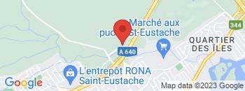 Google Map of 625+rue+Dubois+suite+105%2CSaint-Eustache%2CQuebec+J7P+3W1