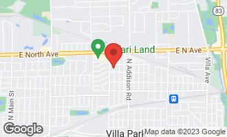 Map of 626 North Bierman Avenue VILLA PARK, IL 60181