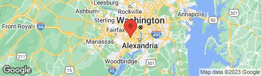 Map of 6264 SHACKELFORD TERRACE ALEXANDRIA, VA 22312