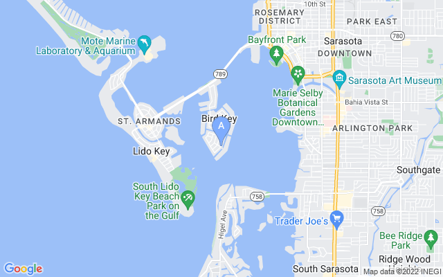 628 N Owl Dr Sarasota Florida 34236 locatior map