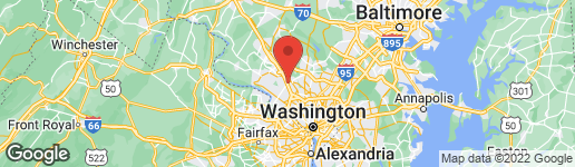 Map of 628 GREAT FALLS ROAD ROCKVILLE, MD 20850