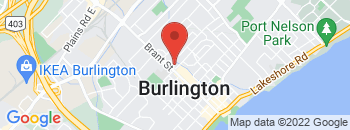 Google Map of 629+Brant+Street%2CBurlington%2COntario+L7R+2H1