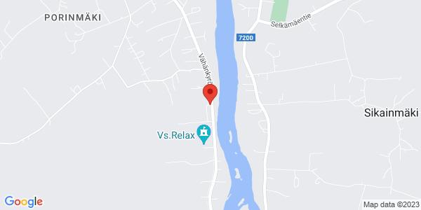 Kartta: Vähänkyröntie 51, Vähäkyrö