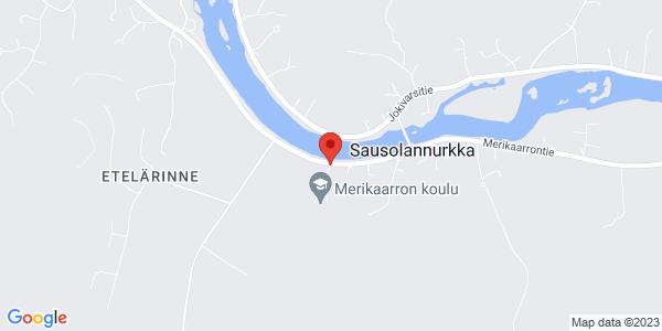 Kartta: Merikaarrontie 774, 66510 Vähäkyrö
