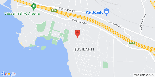 Kartta: Jyväskylänkatu 2, 65350 Vaasa
