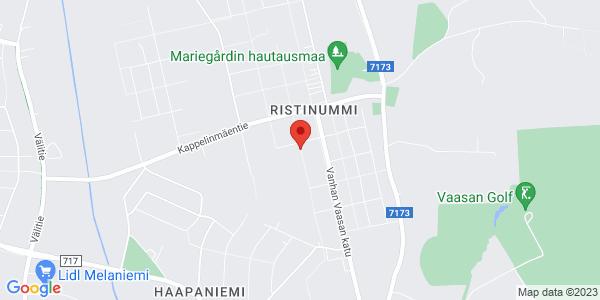 Kartta: Jyrsijänkatu 2, 65370 Vaasa