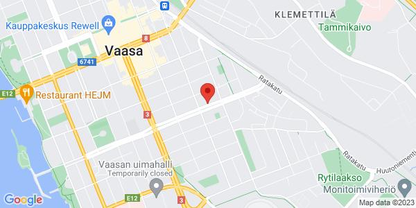Map: Korsholmsesplanaden 31, Vaasa