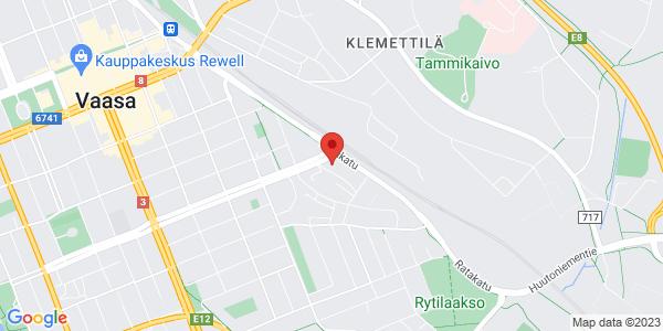 Map: Korsholmanpuistikko 44, 5th floor, 65100 Vaasa