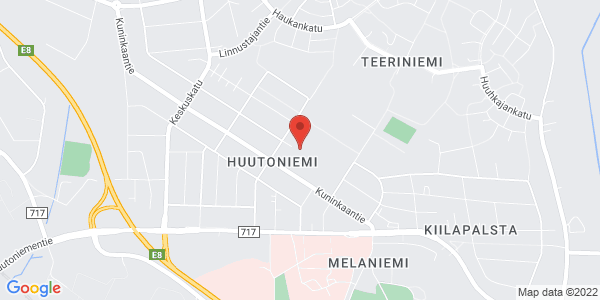 Kartta: Mannerheimintie 41, 65320 Vaasa