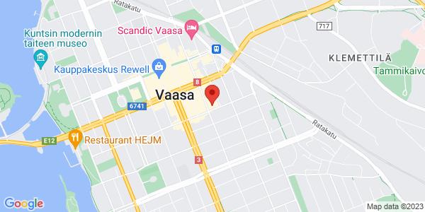 Kartta: Pitkäkatu 53, Vaasa