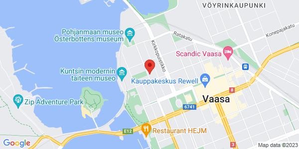 Kartta: Koulukatu 19, Vaasa