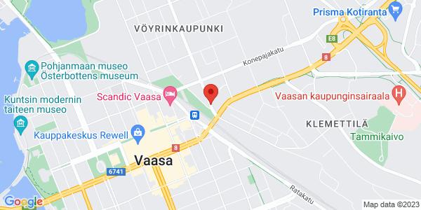 Kartta: Vöyrinkatu 46, Vaasa