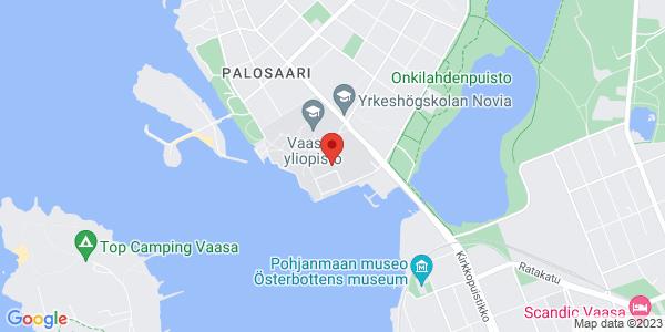 Kartta: Wolffintie 36, Vaasa