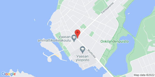 apr: Wolffskavägen 25, 65200 Vasa