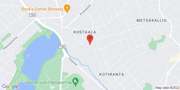 Kartta: Sorsantie 10 D, 65230 VAASA