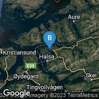 Lagekarte von Vågland