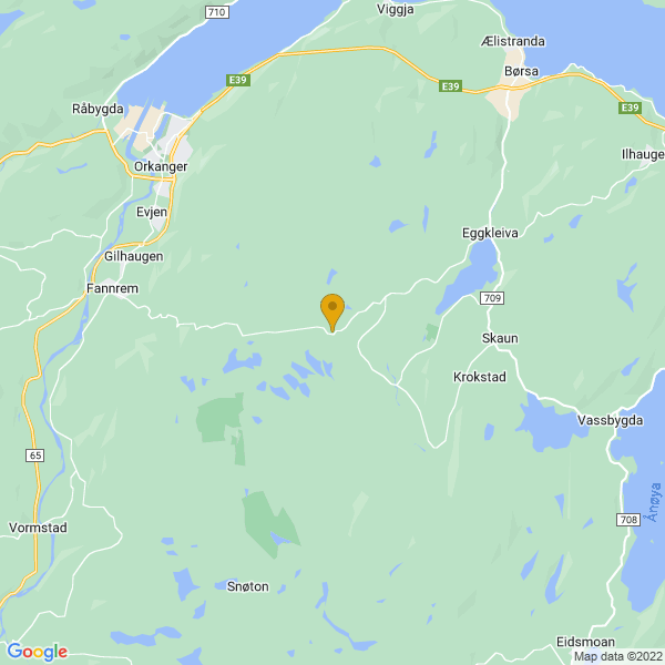 Google Map of 63.25413820000001,9.9523744