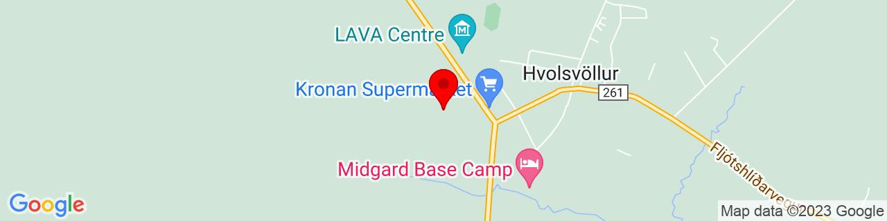 Google Map of 63.7499239, -20.238715400000046