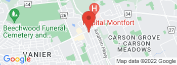 Google Map of 630+Montreal+Road%2COttawa%2COntario+K1K+0T5