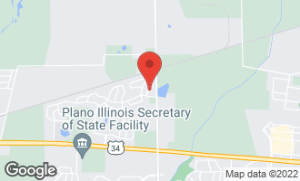 Map of 630 Deames Street PLANO, IL 60545