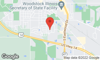 Map of 630 Indigo Lane WOODSTOCK, IL 60098
