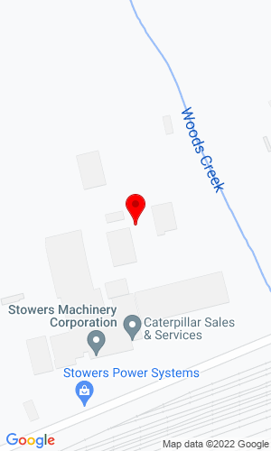 Google Map of Stowers Machinery Power Systems 6301 Old Rutledge Pike, Knoxville, TN, 37924