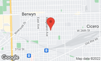 Map of 6307 26th Street BERWYN, IL 60402