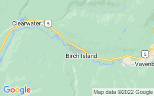 Map of Birch Island Campground