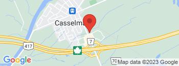 Google Map of 632+Principale+Street%2CCasselman%2COntario+K0A+1M0