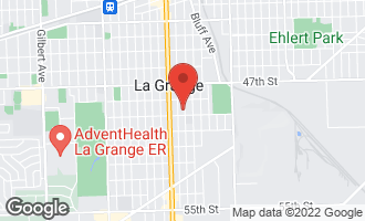 Map of 632 7th Avenue LA GRANGE, IL 60525