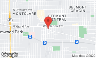Map of 6324-26 West Grand Avenue CHICAGO, IL 60639