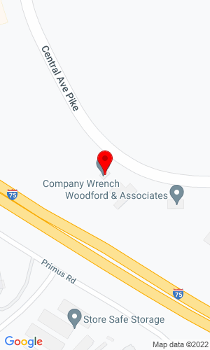 Google Map of ATCO Equipment 6325 Central Avenue Pike, Knoxville, TN, 37912