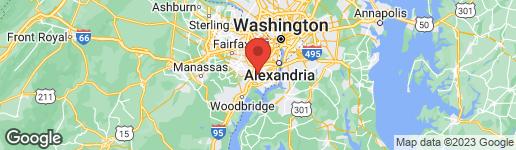 Map of 6339 BROCKETTS CROSSING ALEXANDRIA, VA 22315