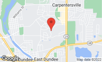 Map of 634 Ravine Road EAST DUNDEE, IL 60118