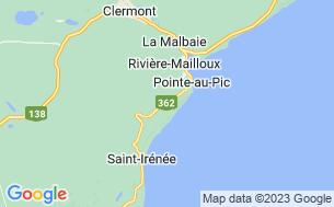 Map of Camping Des Érables