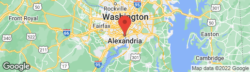 Map of 635 Fairfax Street South Alexandria, VA 22314