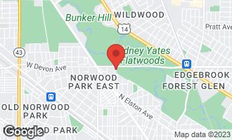 Map of 6354 North Melvina Avenue CHICAGO, IL 60646