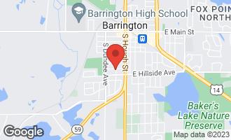 Map of 636 Lill Street BARRINGTON, IL 60010