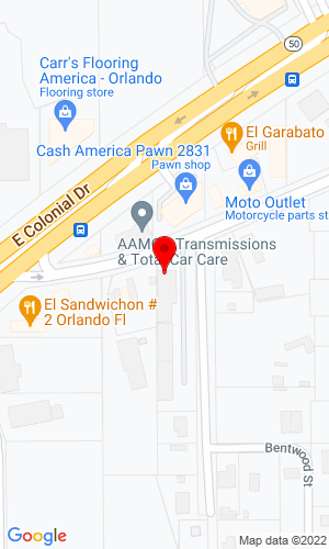 Google Map of Ingenium Power and Sport LLC 6368 Old Cheney Highway, Orlando, FL, 32807