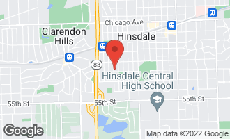 Map of 637 South Bruner Street HINSDALE, IL 60521