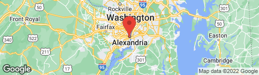 Map of 639 SAINT ASAPH STREET S ALEXANDRIA, VA 22314