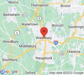 Job Map - 64 ROBBINS STREET Waterbury, Connecticut 06708 US