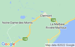 Map of Camping le Triskel
