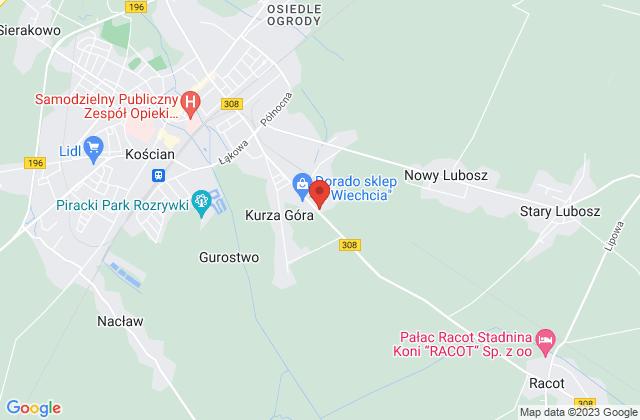Wyświetl Pokrycia Dachowe ROB-FIL s.c. R.Krzemiński, F.Dudziński na mapie